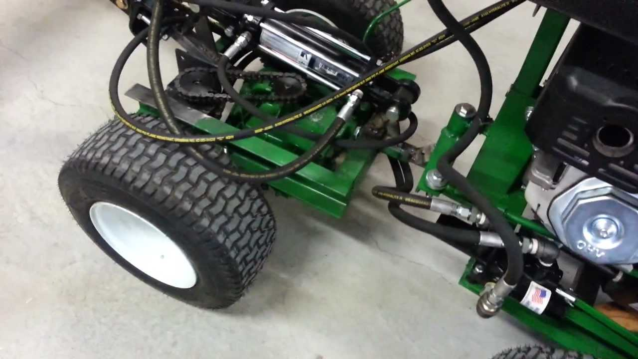 Homemade Tractor Hydraulic Overview Youtube