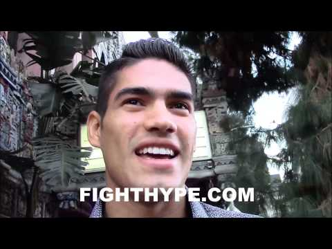 GILBERTO RAMIREZ TALKS DREAM FIGHTS WITH ANDRE WARD AND CHAVEZ JR READY TO MAKE NOISE IN 2015