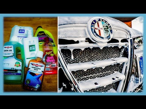 What Is The Best Snow Foam & Detergent & Why?