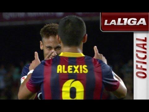 Resumen de FC Barcelona (4-1) Real Valladolid - HD
