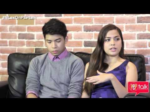 PEPtalk. Nash Aguas and Alexa Ilacad (NLex) Full Interview