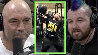 Cheerleading Led Rob Kearney to Being a Strongman | Joe Rogan