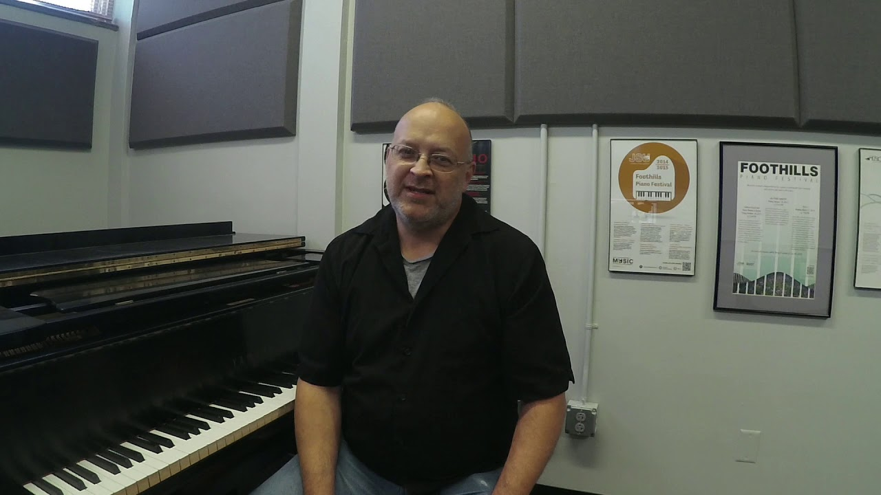 Prof. Chris Hosmer Discusses His Piano Background