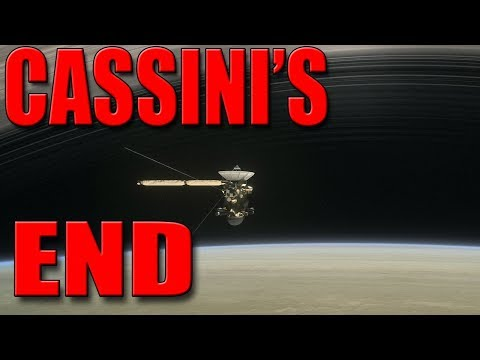 Cassini's End: Cassini Grand Finale - Real Time Simulation Following Its Descent into Saturn