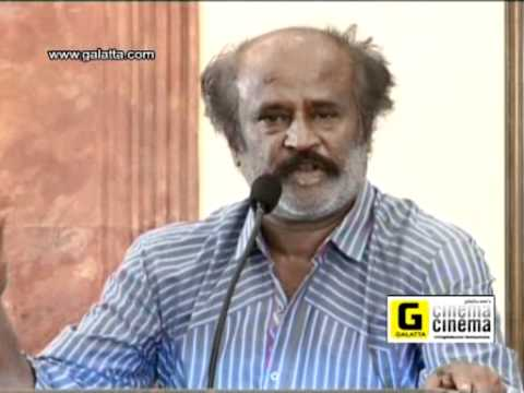Rajinikanth express his condolence for Japan Earthquake