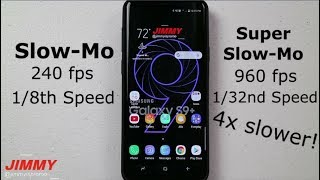 IMPORTANT Super Slow-Mo Settings & Features   Galaxy S9/S9+