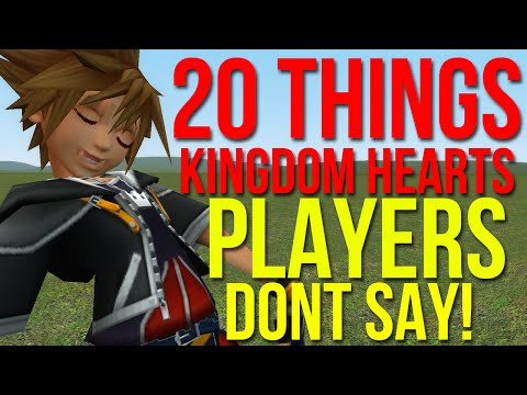 20 Things Kingdom Hearts Players Don't Say