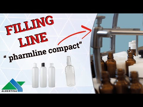 Albertina - Automatic filling and capping monoblock Pharmline