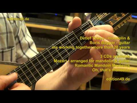 Adam Darr Fantasie mandolin guitar Detlef Tewes Boris Bagger
