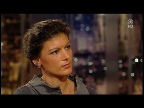 Sahra Wagenknecht (LINKE) bei Harald Schmidt - ARD