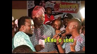 EEBU O LERE, A LIVE PERFORMANCE OF ALH.SAHEED OSUPA AND MURI  THUNDER ,PLS.SUBSCRIBE