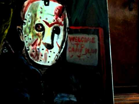 Jason Voorhees Friday the 13th Painting