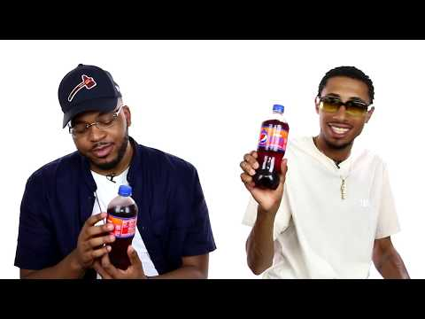 """WDNG CRSHRS aka Quentin Miller and The Cool is Mac Taste Test """"Pepsi Fire"""" and Give Honest Review"""