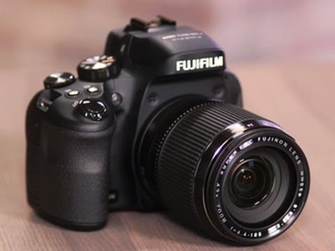 Fujifilm's excellent bridge camera. the FinePix HS50EXR