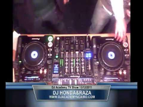Honda DA TV2011   DJ Academy N Cairo T V Station 2011