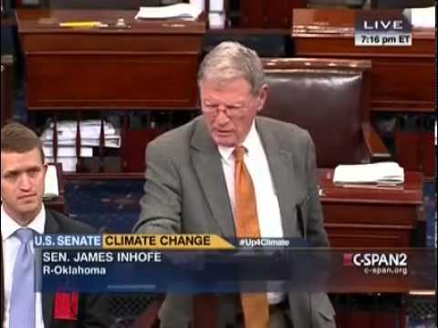 Senator James Inhofe Pokes Fun At Dems During Senate All Nighter