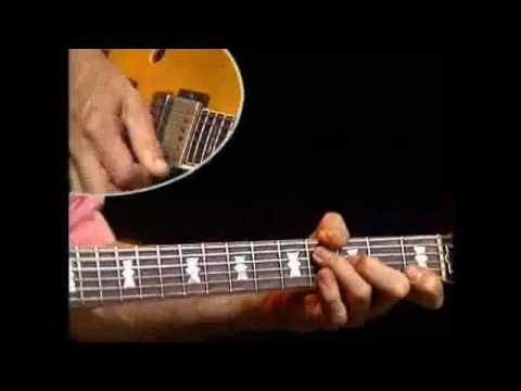 Blues Guitar in F Lesson by Tal Farlow on GuitarInstructor.com
