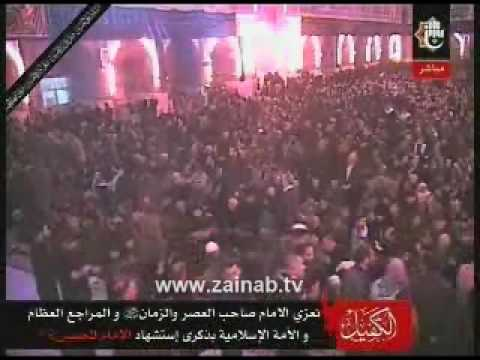 Azan Maghreb - Muharram 10 (Ashura) 1431- Dec 27 2009 - Shrine of Hazrat Abbas a.s. اس�ا� ع��ک �ا ابا��ض� ا�عباس �ا ��ر ب�� �اش�.