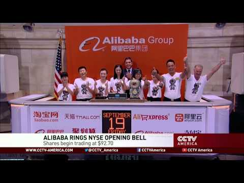 Alibaba US IPO launches on NYSE