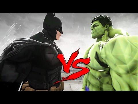BATMAN VS HULK - EPIC BATTLE