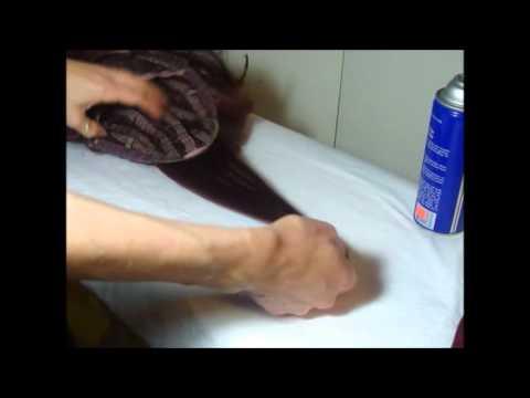 bency como arreglar reparar planchar las pelucas sinteticas con mucho pelo 1ra parte
