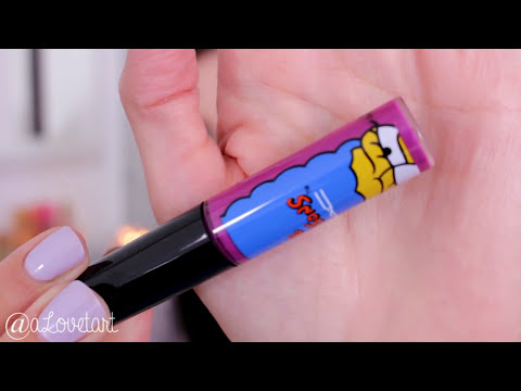 #MACandMarge San Diego Comic-Con Exclusive: Full collection swatches ✰ #Simpsons ♡ aLoveTart