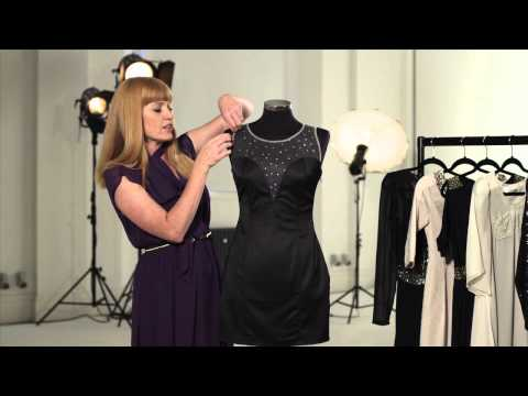 Black bodycon dress video review (7BRP6)