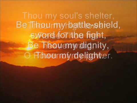 Be thou my vision - (with lyrics)