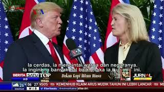 Apa Saja Hasil Pertemuan Kim Jong Un dan Trump?