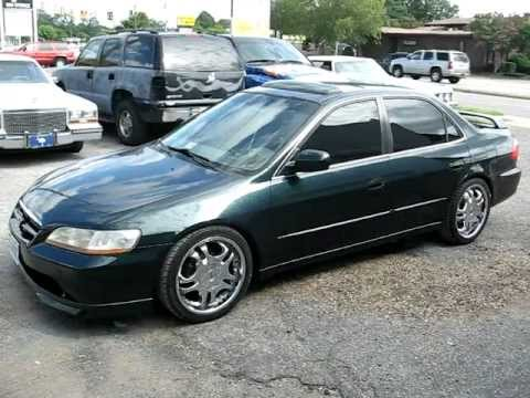 1999 HONDA ACCORD / PAINT JOB ... JOHNS RESTORATION