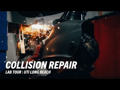 Collision Repair & Refinish Lab Tour - Universal Technical Institute