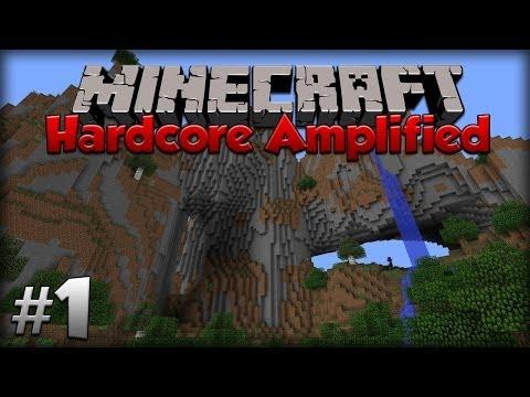 Minecraft Hardcore Amplified - Episode 1