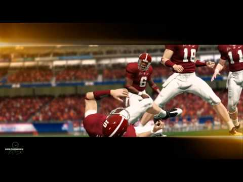 NCAA Football 14 Demo: Virginia Tech vs Alabama Opening