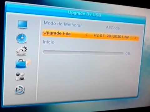 Az America S922 configuração e atualização