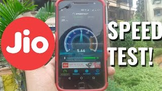 Reliance Jio 4G Data Speed Test - (Youtube,Downloading,Streaming,Browsing & More! Throttling Issues