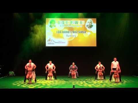 Sydney Latin Festival 2017 - LDA JAIMES ON2 SALSA