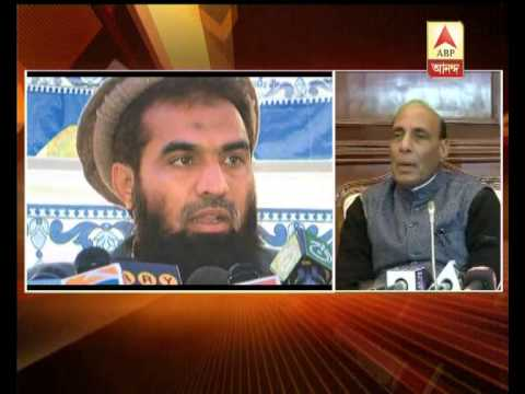 Rajnath Singh condemns pak court allowing bail to Lakhvi, calls it sad.