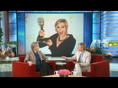 Jane Lynch Loves Winning Emmys