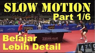 SLOW MOTION (Part 1/6) Final Asian Cup - April 2019 Ma Long VS Fan Zhendong.