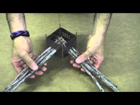 Folding Firebox Nano Ultralight Backpacking Stove Instructional Video / Care Instructions