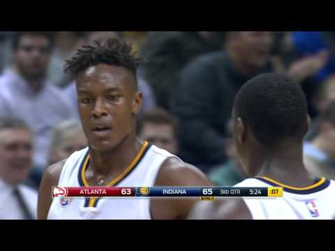 Atlanta Hawks vs Indiana Pacers - January 28, 2016