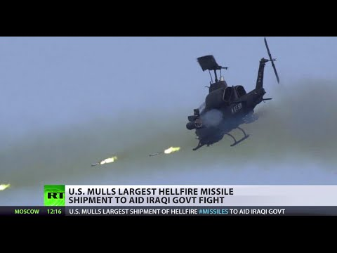 Divide & Ruin Strategy: US ships 5,000 Hellfire missiles to Iraq