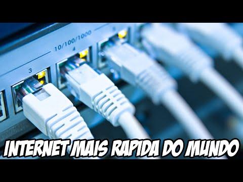Internet mais rápida do mundo está chegando nos EUA e TA CARO