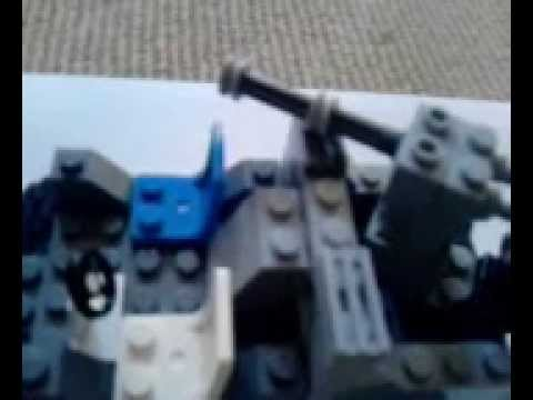 how to build a lego halo 3 warthog + odst drop pod