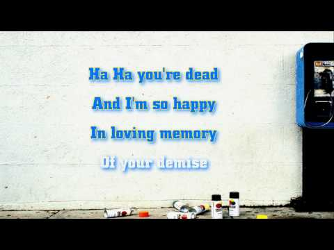 Green Day - Ha Ha You're Dead lyrics