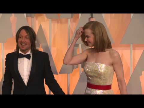 Oscars: Nicole Kidman and Keith Urban Red Carpet Fashion 2015
