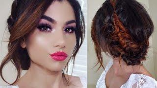 Full SPRING Makeup Tutorial! + Romantic Braid Updo!