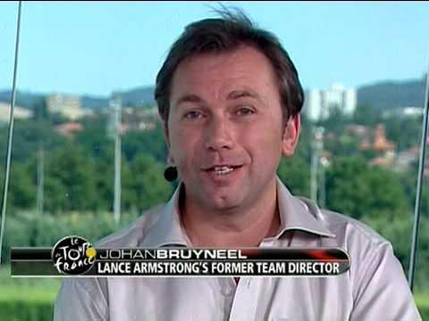 Johan Bruyneel on VERSUS - 2008 Tour de France St.18