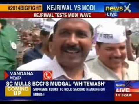 Arvind Kejriwal to declare war on Narendra Modi in Varanasi