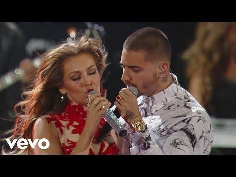 download lagu Thalía - Desde Esa Noche Ft. Maluma gratis